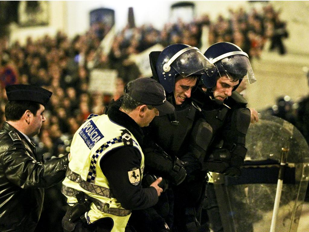 Manifestação das Forças de Segurança em Lisboa [LUSA/Manuel de Almeida]