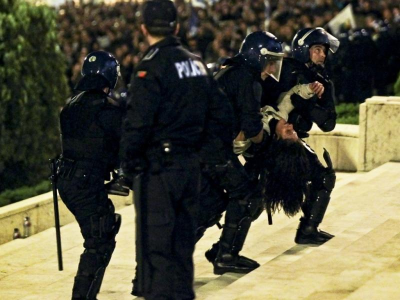 Manifestação das Forças de Segurança em Lisboa [LUSA/José Sena Goulão]