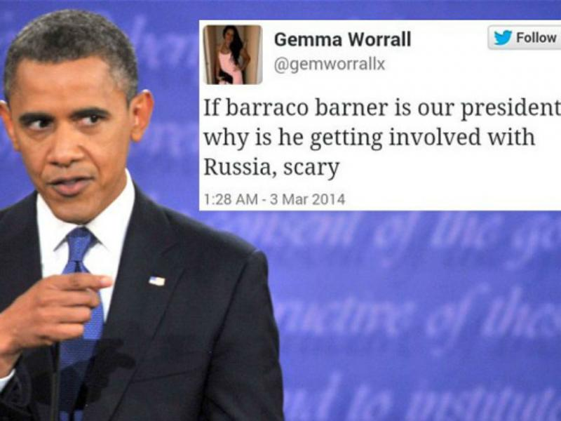 Tweet sobre «Barraco Barner» torna-se viral (Reprodução The Telegraph)