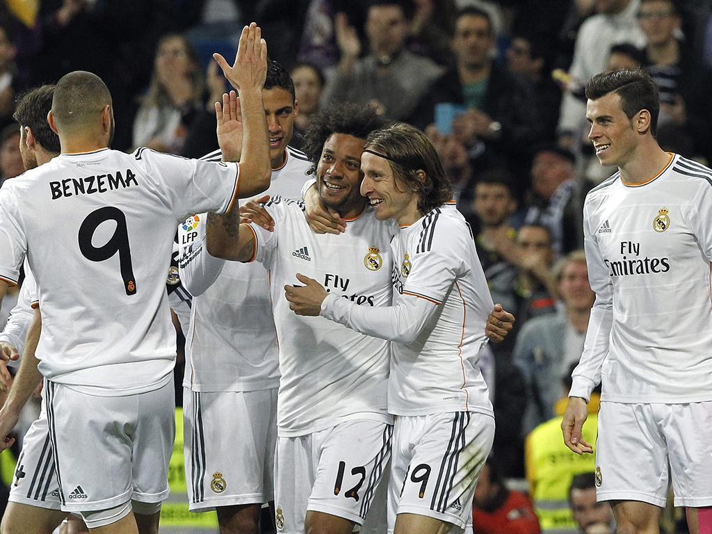 Real Madrid VS Levante (LUSA)