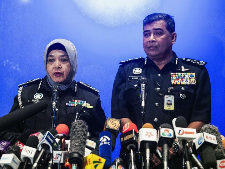 Khalid Abu Bakar, chefe da polícia da Malásia (Lusa)