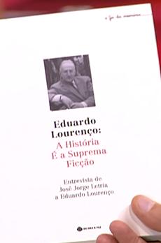 Os livros de Marcelo Rebelo de Sousa «Eduardo Lourenço: A história é a suprema ficção»