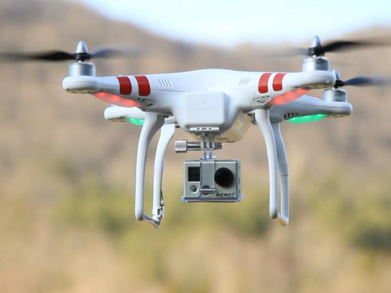 Drone transportou droga até prisão