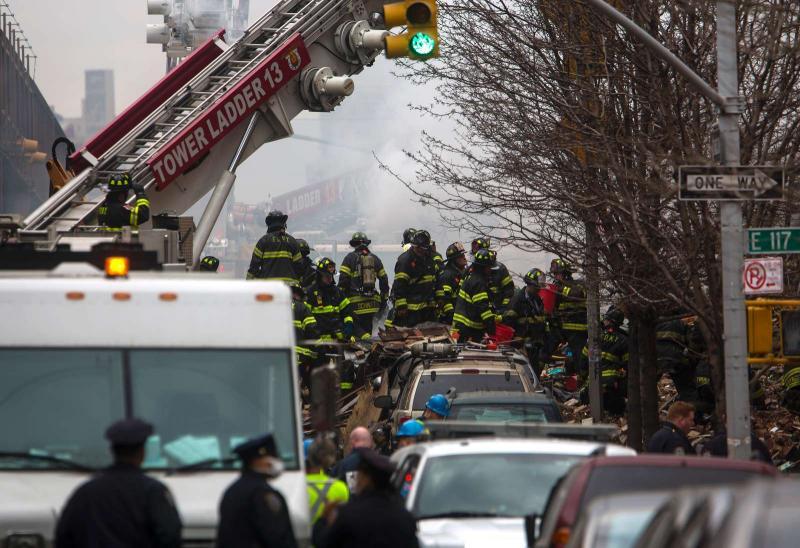 Explosão em Manhattan, nos EUA (REUTERS)