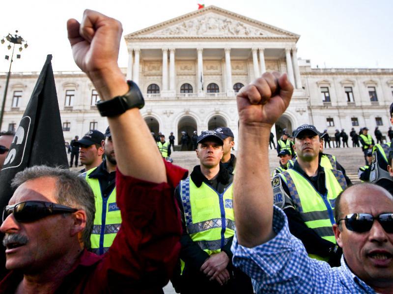 Manifestação da Frente Comum [LUSA]