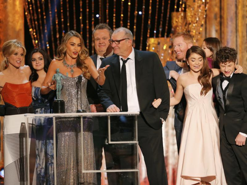 Elenco da série «Modern Family» no SAG Awards (Reuters)