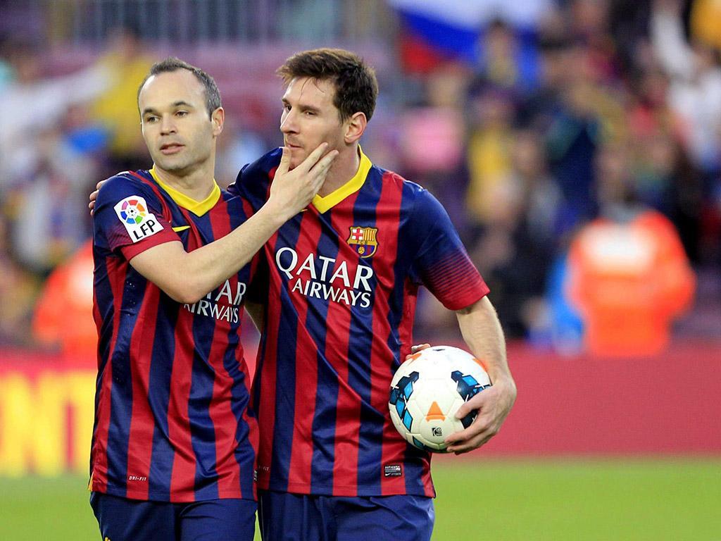 Barcelona vs Osasuna (EPA)