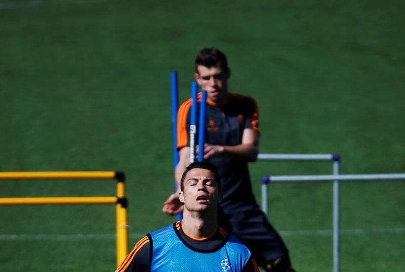 Treino do Real Madrid (Reuters)