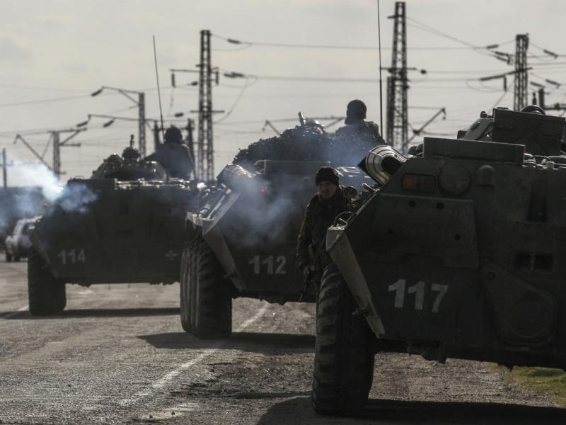 Tropas ucranianas na Crimeia (Reuters)