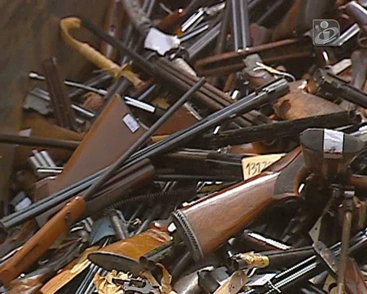 PSP destrói cerca de três mil armas