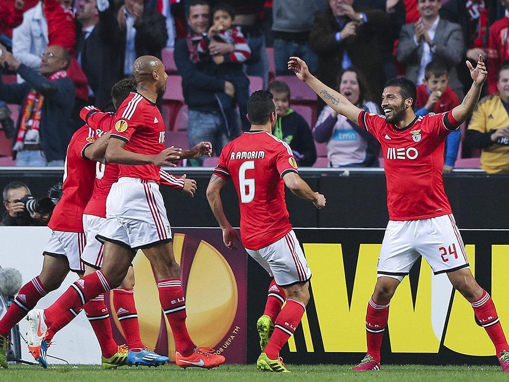 Benfica vs Tottenham Hotspur (EPA)