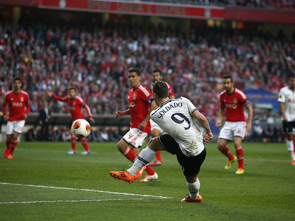 Benfica vs Tottenham Hotspur (REUTERS)