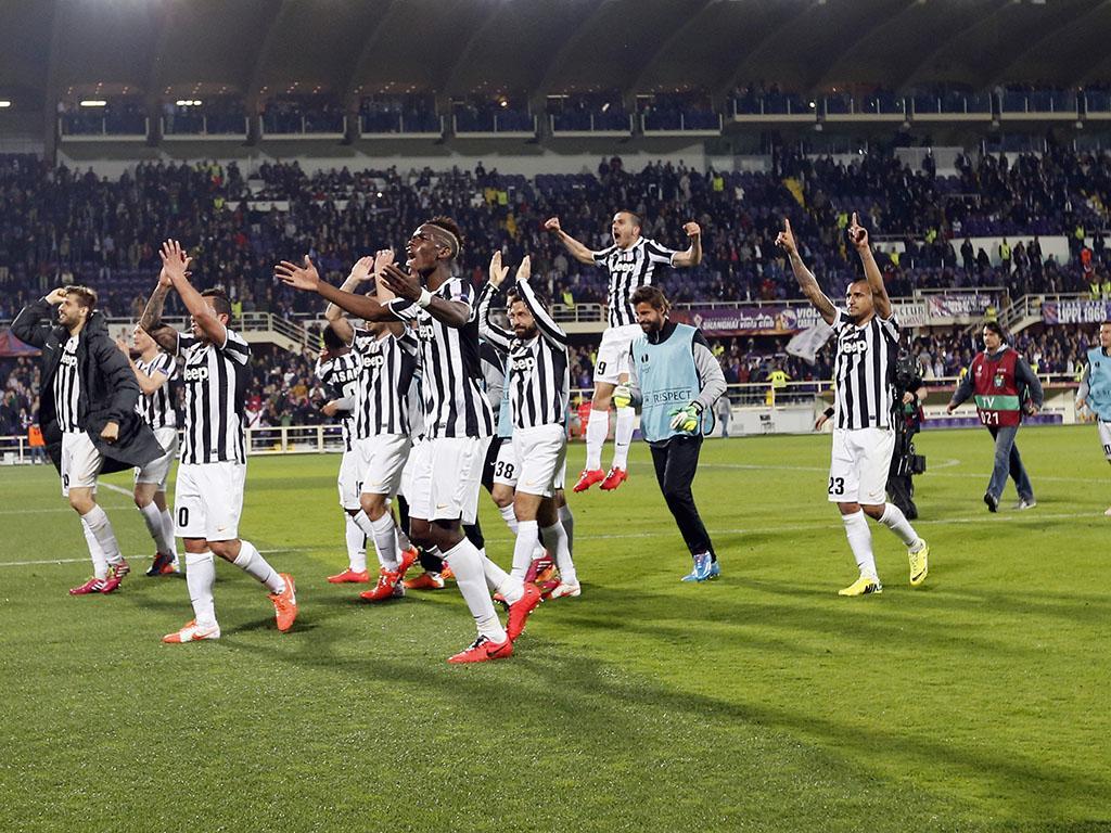 Fiorentina vs Juventus (REUTERS)