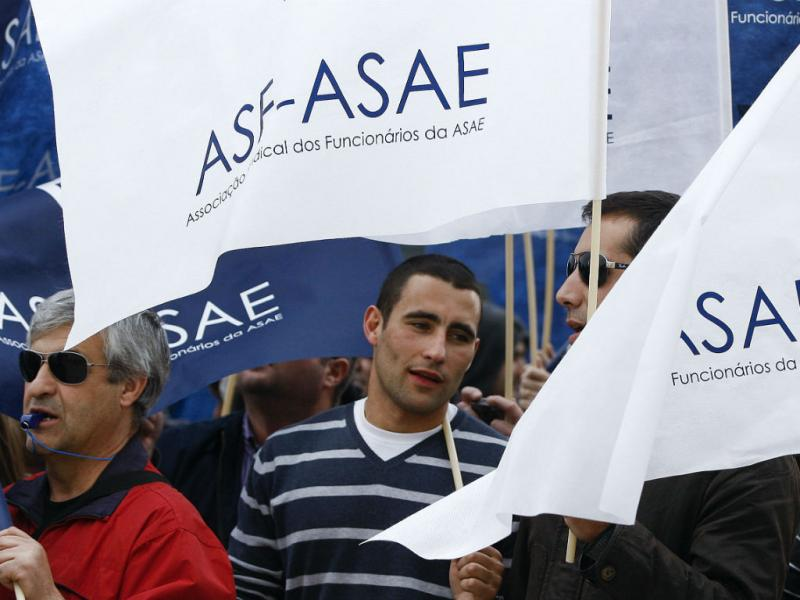 Marcha de inspetores da ASAE [LUSA]