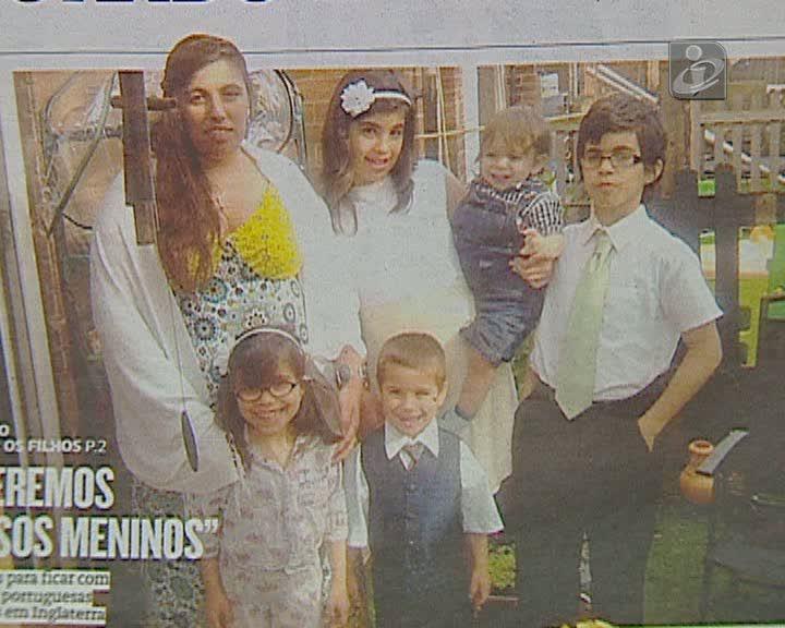 Rapto dos filhos: casal português emigrado em Inglaterra já foi libertado