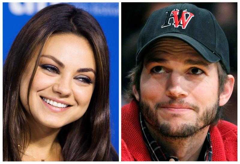 Mila Kunis e Ashton Kutcher asistem ao jogo entre os Los Angeles Clippers e os Detroit Pistons no Staples Center Foto: Reuters