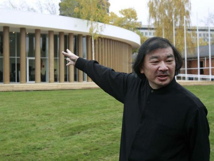 Shigeru Ban [Reuters]