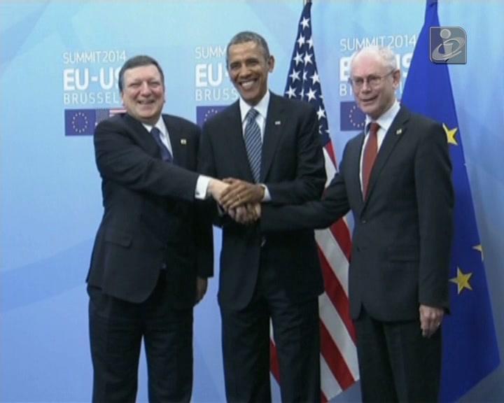 Presidente dos EUA na Europa para cimeira UE-EUA dominada pela Ucrânia