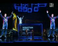 Sebastian Vettel nos Prémios Laureus