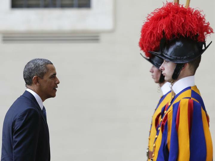 Obama no Vaticano [Reuters]