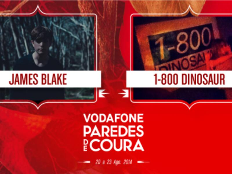 James Blake no Vodafone Paredes de Coura