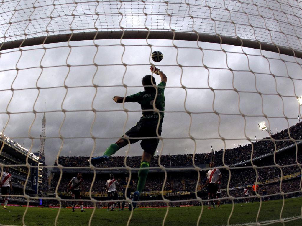 Boca Juniors-River Plate (Reuters)