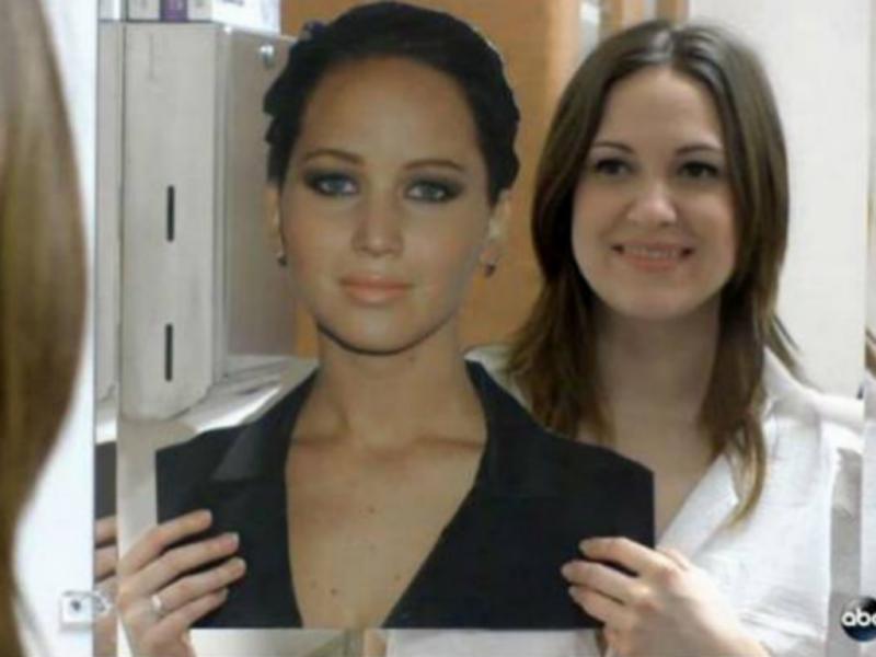 Mulher recorreu a cirurgias plásticas para se assemelhar a Jennifer Lawrence