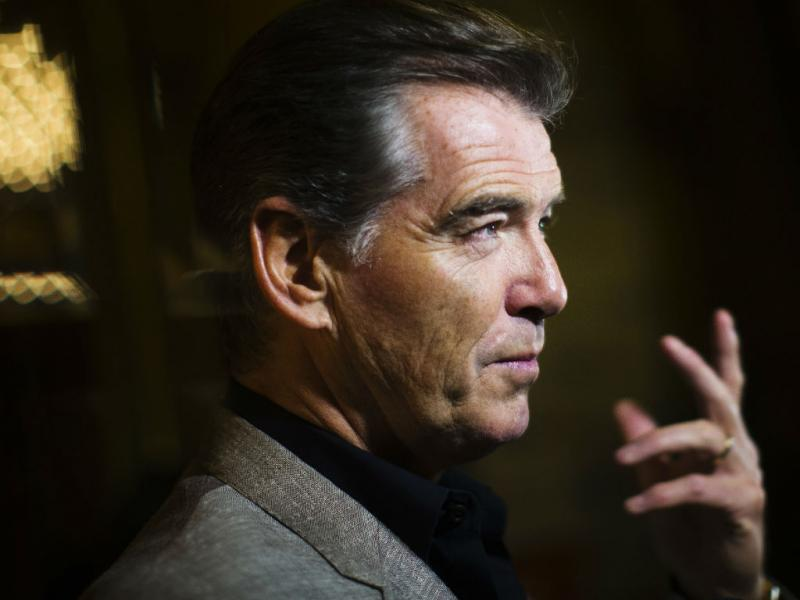 Pierce Brosnan (REUTERS)