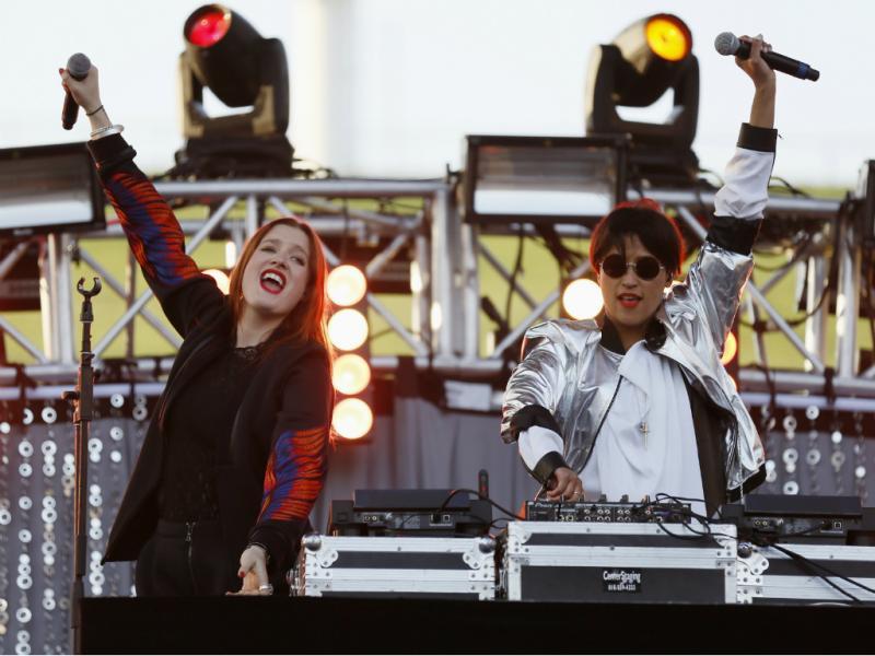 «Icona Pop» (REUTERS/Danny Moloshok)