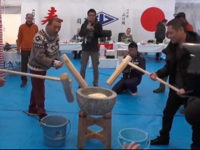 «Yakuzas» participam em rituais de ano novo (Reproudção / Youtube / 麻薬追放国土浄化同盟)