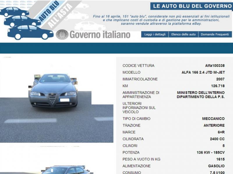 Governo leiloa carros do Estado online [Reprodução]