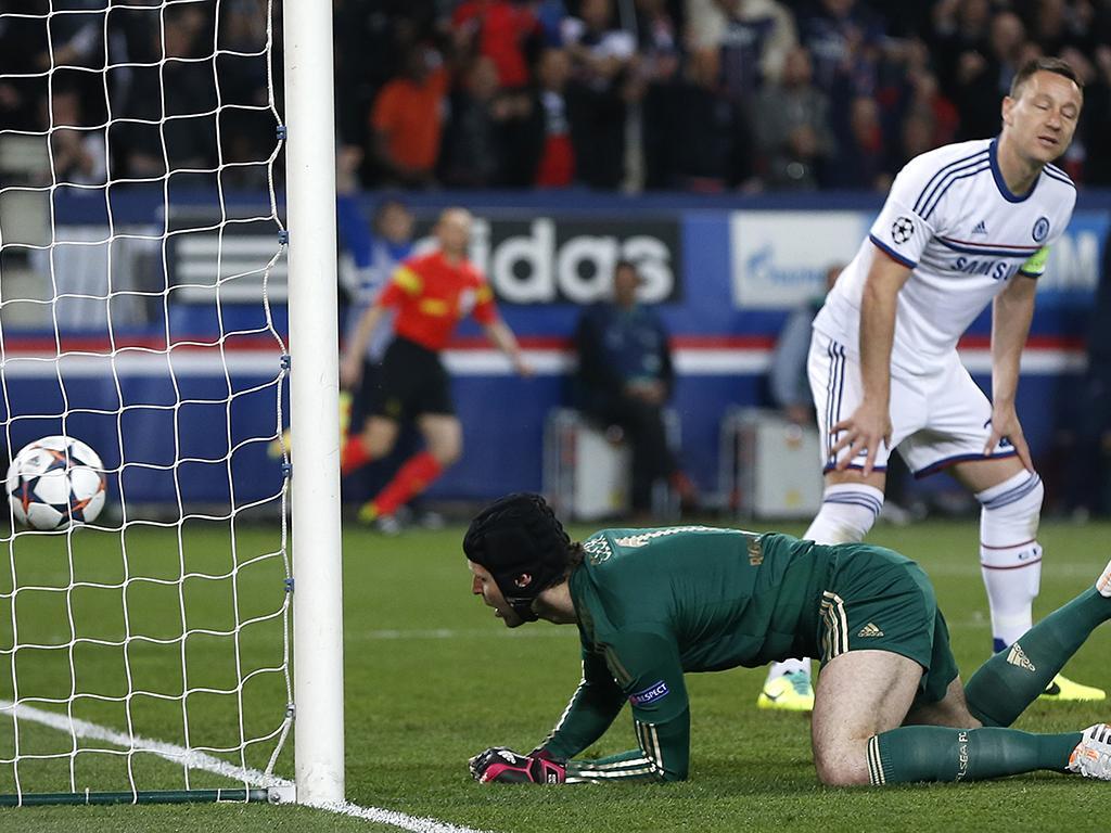 Paris Saint Germain vs Chelsea (REUTERS)