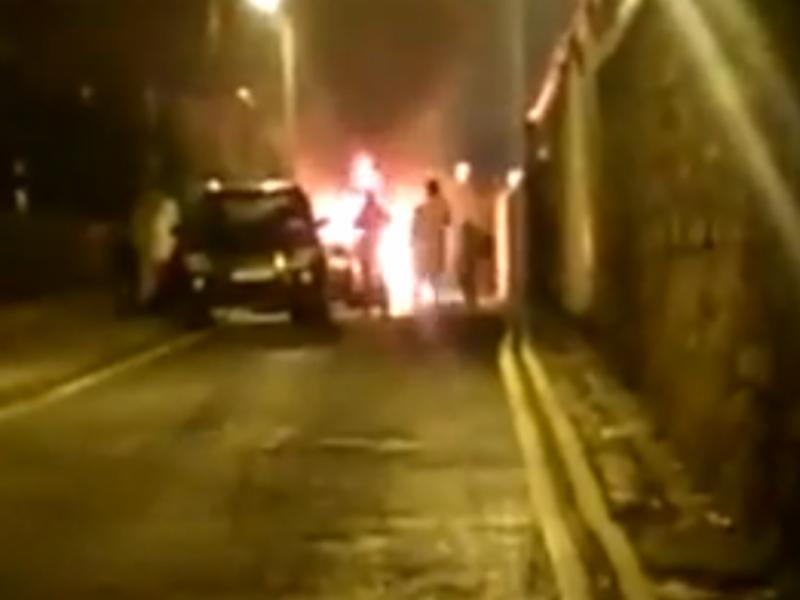 Explosão em Dublin (Reprodução / Youtube / News 365)