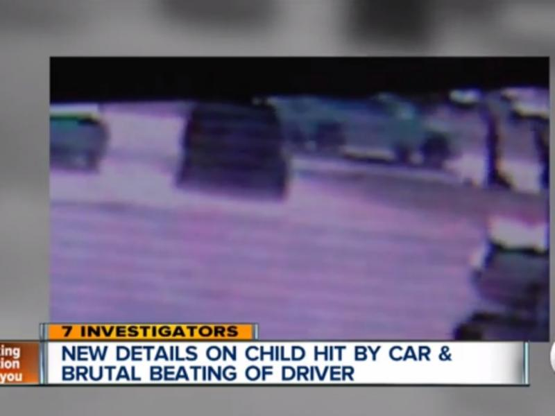 Homem agredido depois de tentar ajudar rapaz que tinha atropelado(Reprodução de YouTube)