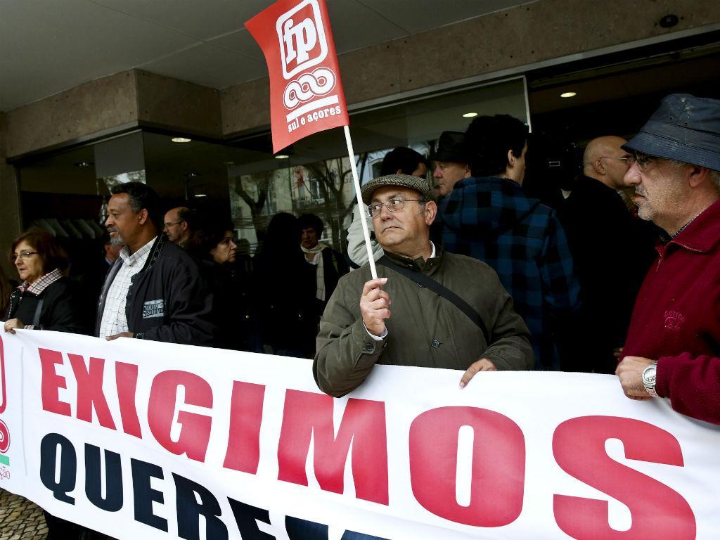 Sindicalistas ocupam Ministério da Educação (Lusa)