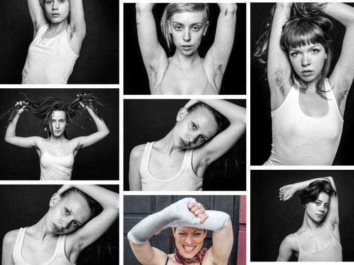 Beleza natural é: mulheres com pelos (Ben Hopper)
