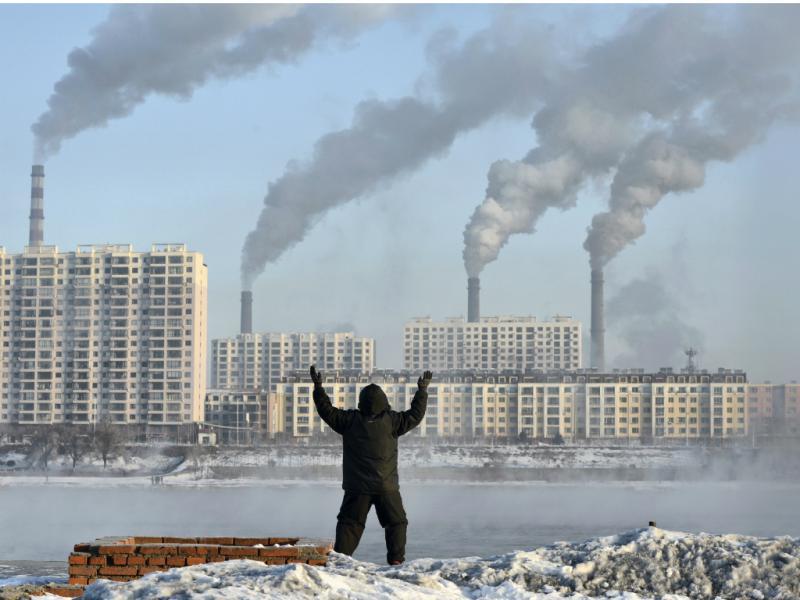 Poluição na China (Reuters)