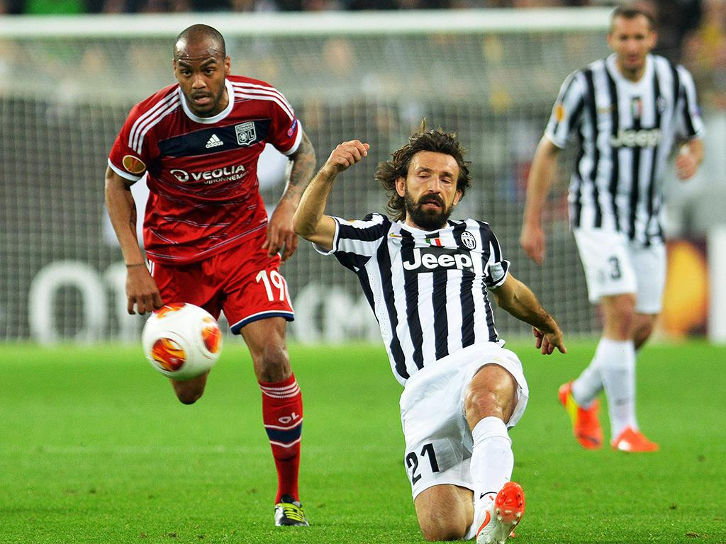 Juventus vs Lyon (EPA)