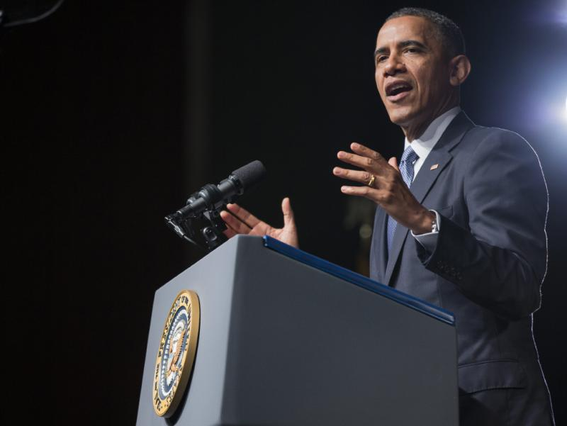 Obama discursa sobre os direitos civis no Texas Foto: Lusa