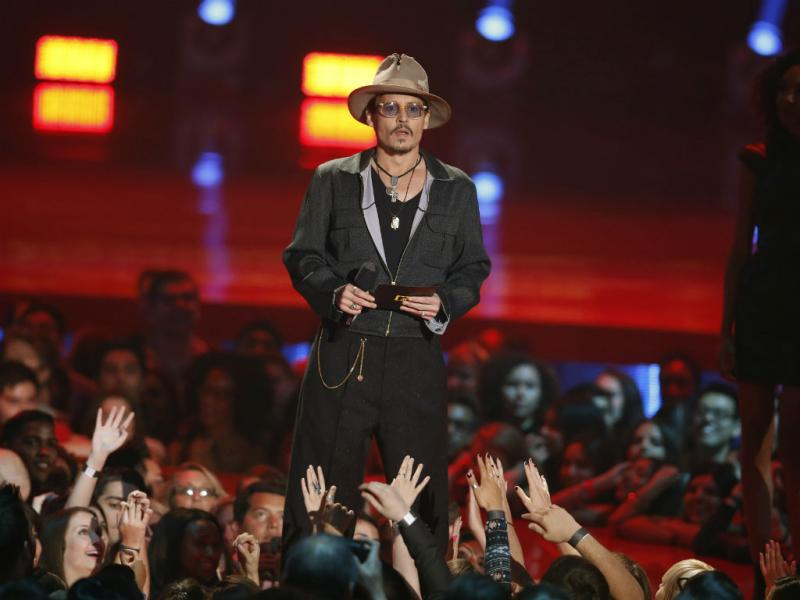 MTV Movie Awards 2014: Johnny Depp (REUTERS)
