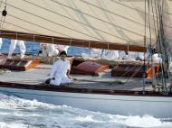 Nadal anda de veleiro no Mediterrâneo