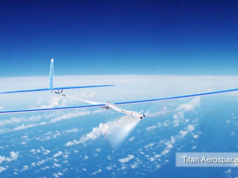Drone - Titan Aerospace (Reprodução YouTube)