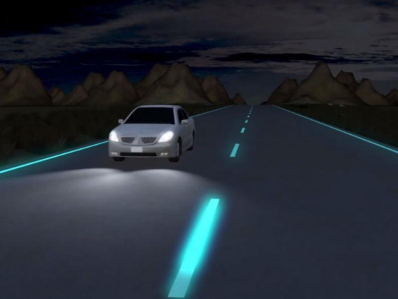 Auto-estradas fluorescentes