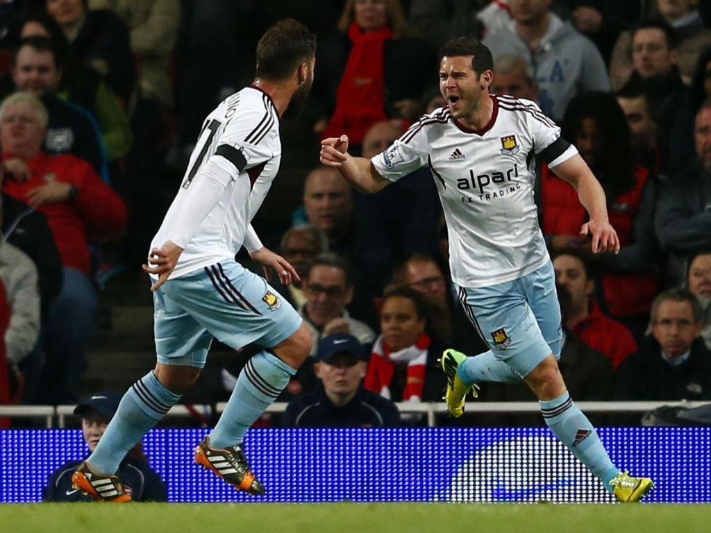 Arsenal-West Ham (Reuters)