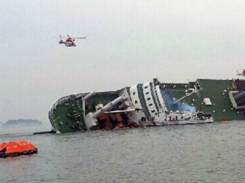 Naufrágio de navio na Coreia do Sul