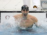 Michael Phelps em Beijing 2008 (REUTERS)
