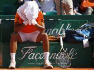Jo-Wilfried Tsonga no Masters de Monte Carlo (EPA)