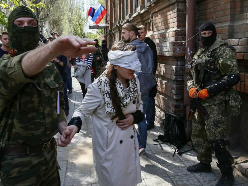 Jornalista raptada na Ucrânia