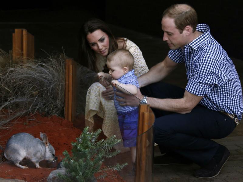 O pequeno príncipe George (Reuters)