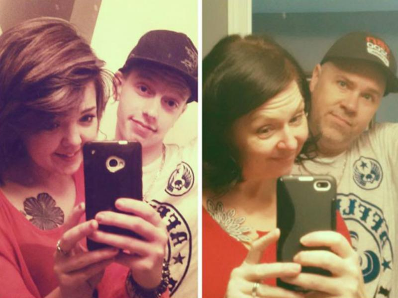 Pai vira sucesso na internet depois de «clonar» #selfie do filho